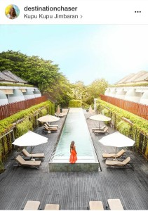 Kupu Kupu Jimbaran Rooftop Pool by destinationchaser