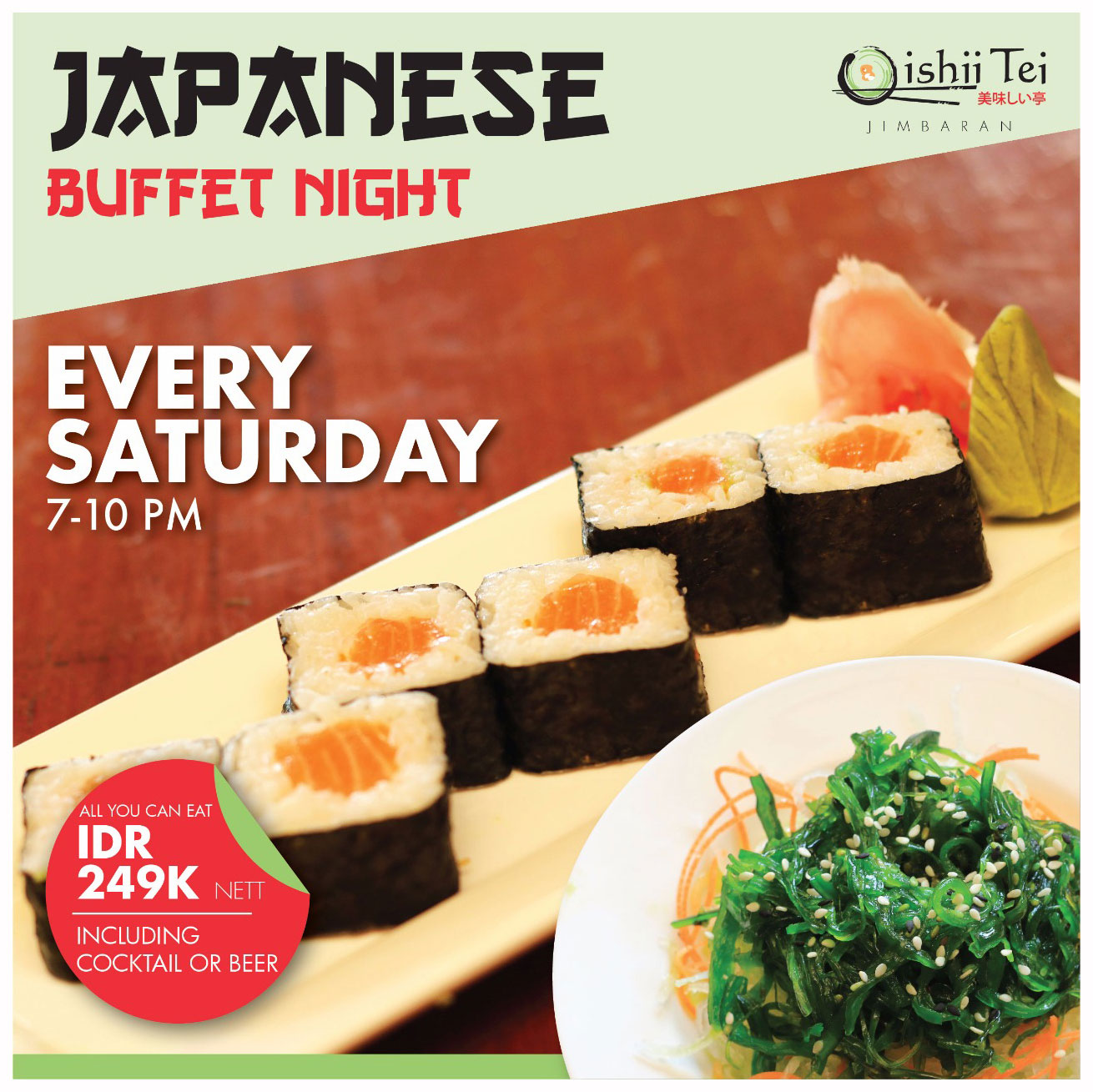 Oishi-Tei---Kupu-Kupu-Jimbaran---Japanese-Buffet-Night