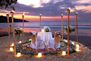 Romantic Dinner Torch at Jimbaran Beach Club
